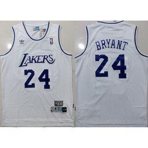 Los Angeles Lakers Kobe Bryant White Jersey
